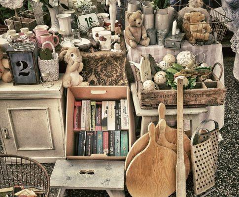 Usa objetos usados para decorar tu casa